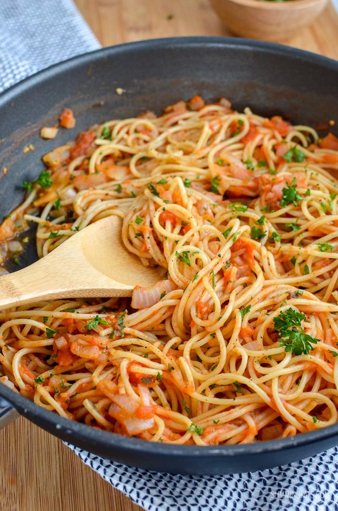 slimming soob kana ja seene pasta