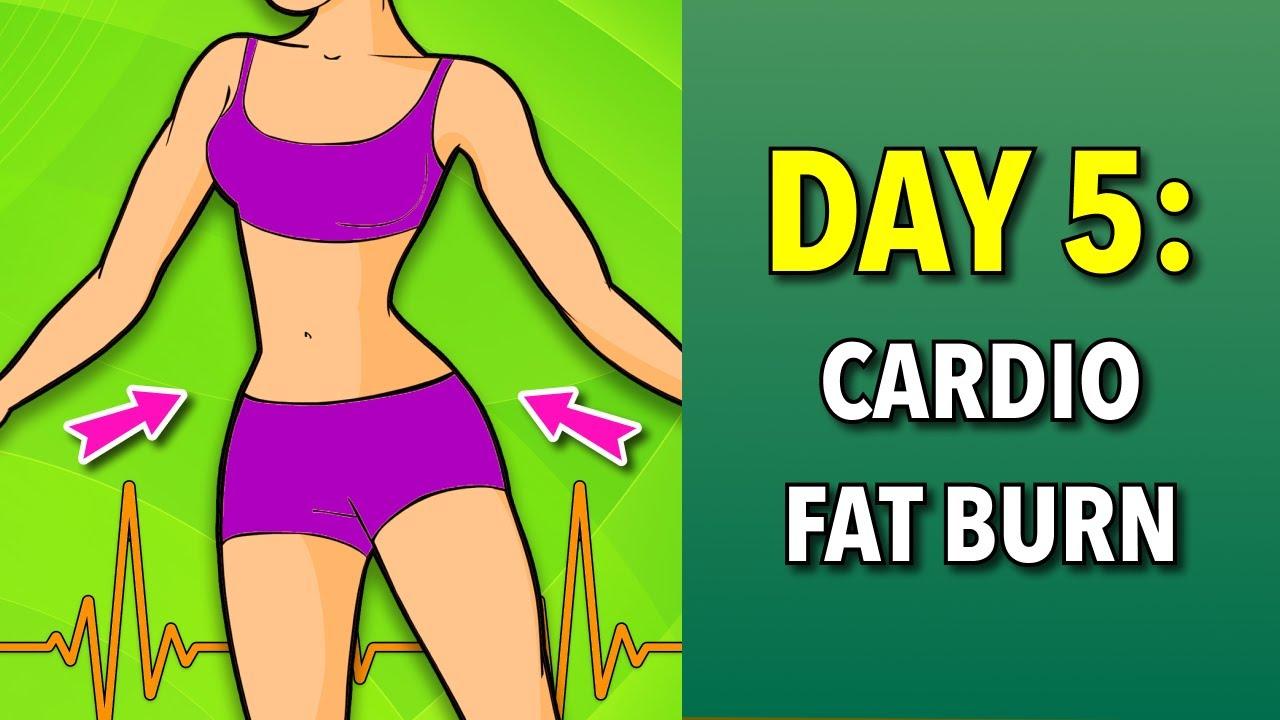 fat burn challenge day 5