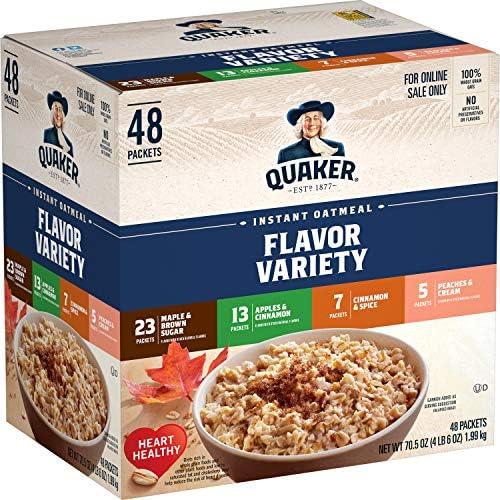 kvaker instant oatmeal kaalulangus