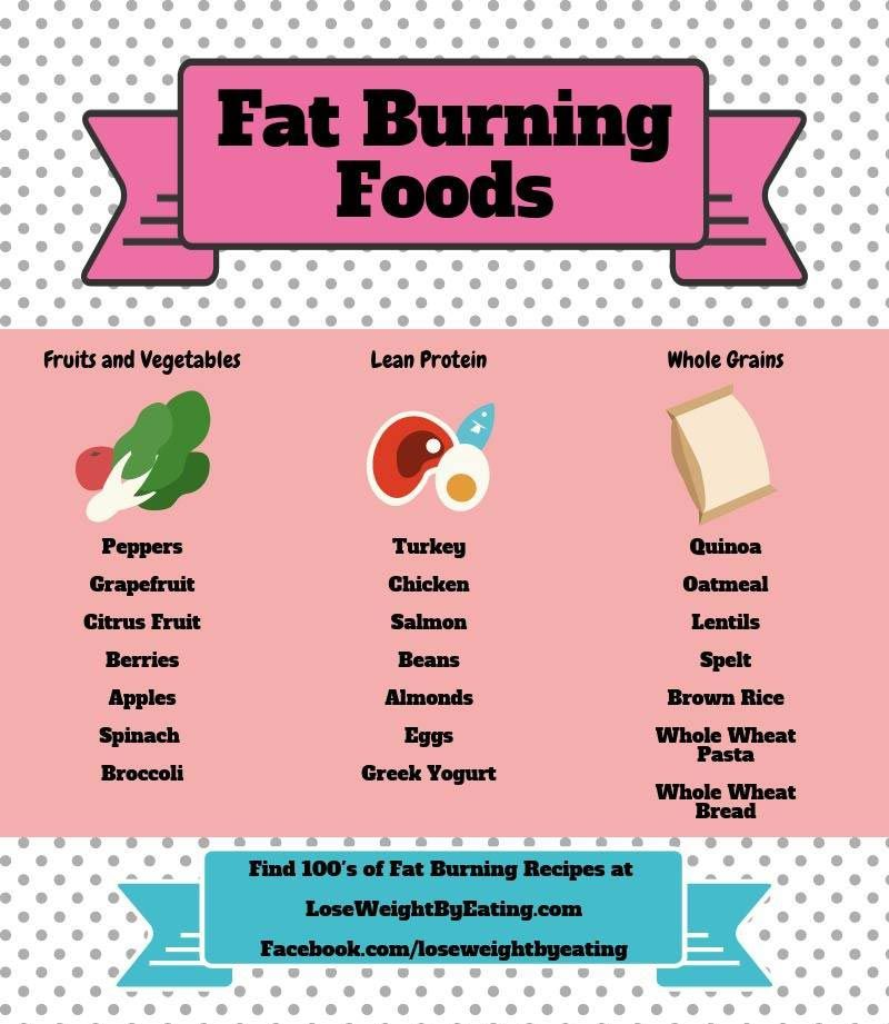 fat burning food guide
