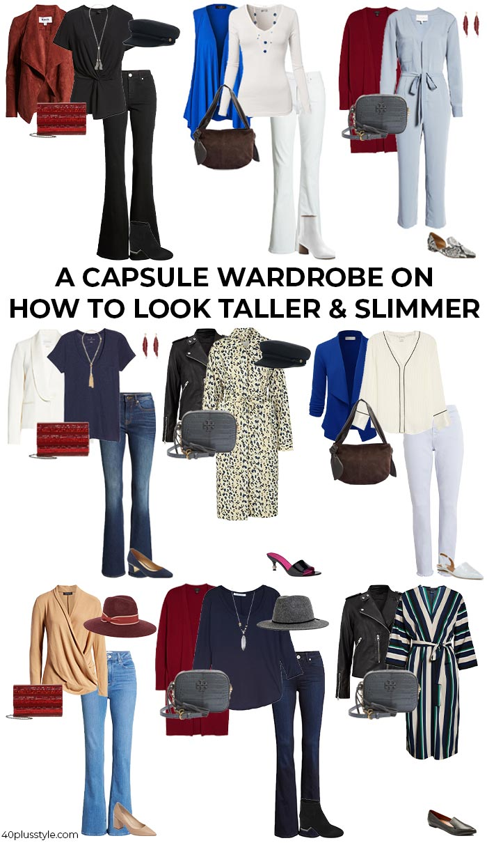 slimming fall outfits